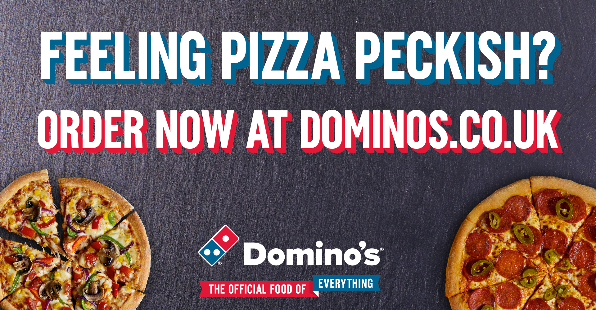 Dominos Promotional Banner